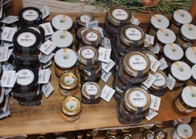 Produkter fra Voglie di Bosco Moretti i Umbria