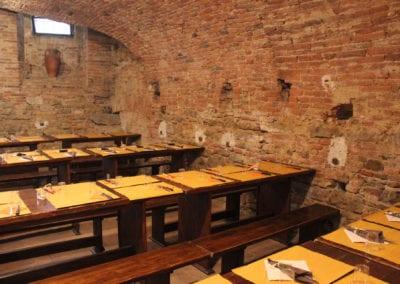 Taverna de la Rocca i Citta della Pieve, Umbria