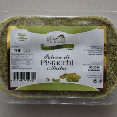 Pistasjnøtter i pulverform fra Sicilia 100 g - Ditt Italia