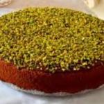 Kake med pistasjnøtter