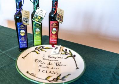Olivenolje fra Cornieto - Premie - Olio di Vino 2017