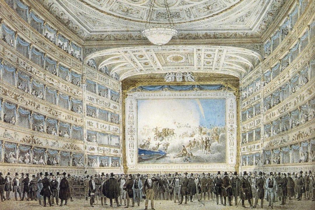 Gran Teatro La Fenice i Venezia 1837