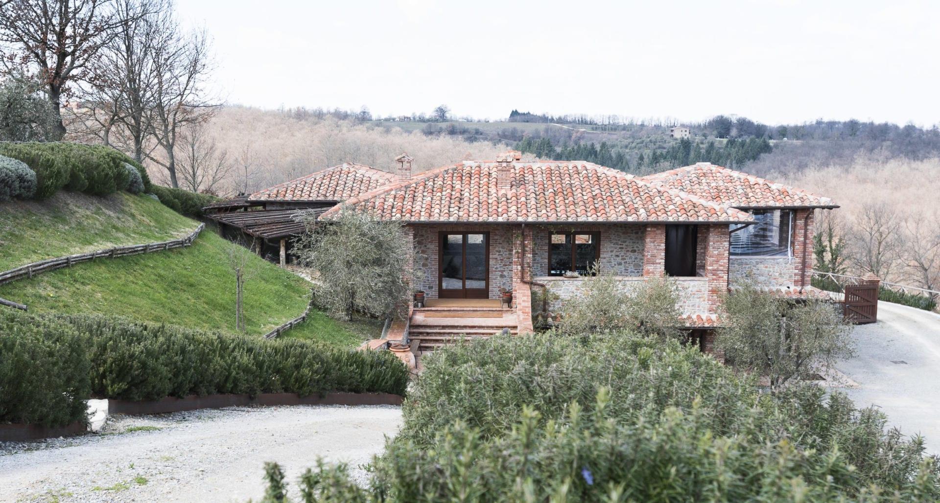 Azienda Agricola Pomario - produksjon av vin og olivenolje - Foto: Paolo Menchetti