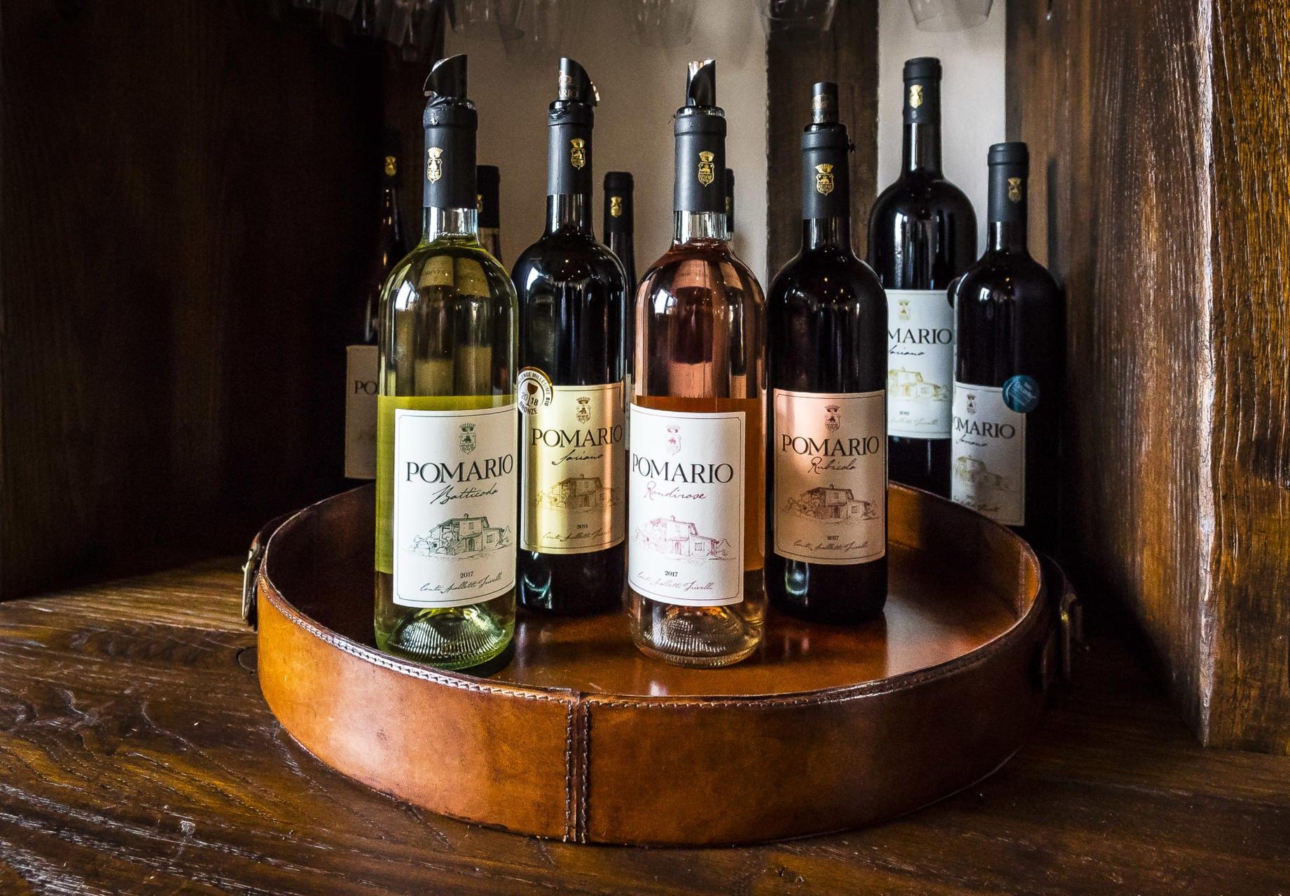 Et utvalg av viner - Foto: Paolo Menchetti