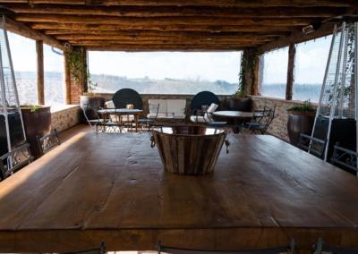 Azienda Agricola Pomario - rom for smaking av vin og olivenolje