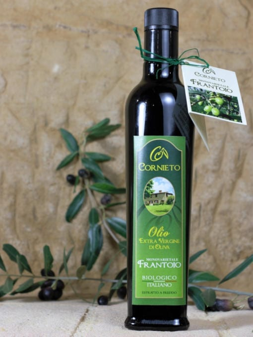 Økologisk ekstra jomfru olivenolje Frantoio - Cornieto