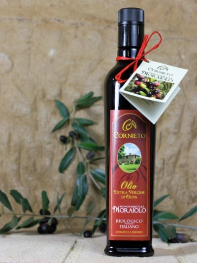 Økologisk ekstra jomfru olivenolje Moraiolo - Cornieto