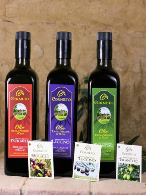 Matgave med økologisk kaldpresset olivenolje - Cornieto