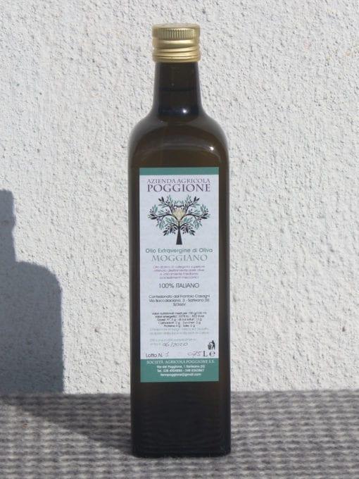 Ekstra virgin olivenolje Moggiano - 750 ml