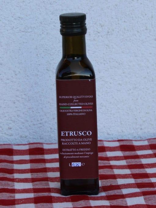 Kaldpresset ekstra virgin olivenolje Etrusco - 250 ml