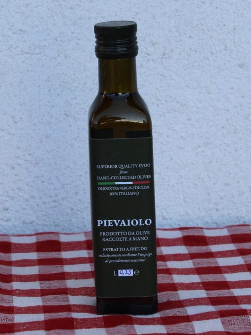 Kaldpresset ekstra virgin olivenolje Pievaiolo - 250 ml