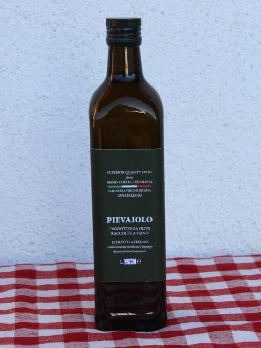 Kaldpresset ekstra virgin olivenolje Pievaiolo - 750 ml