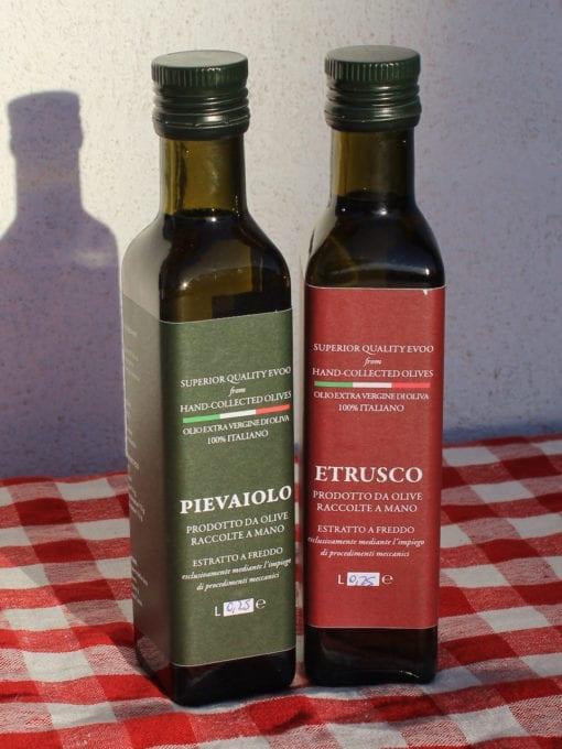 Matgave med kaldpresset ekstra virgin olivenolje Umbro 250 ml