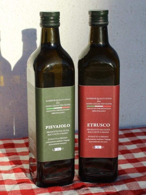 Matgave med kaldpresset ekstra virgin olivenolje Umbro 750 ml